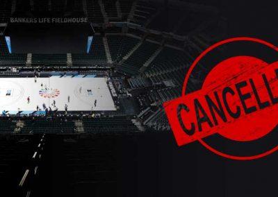 Coronavirus Causes Mass Basketball Tournament Cancellations