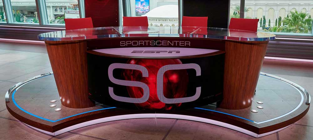 New Las Vegas Home Debuts For Betting Themed ESPN Studio