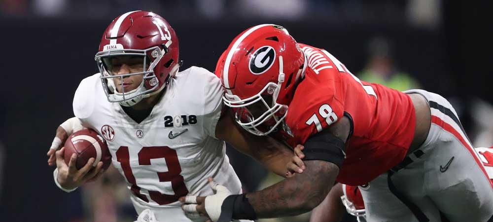 CFB Betting Brief 10/16/2020: Alabama Vs. Georgia Headline Big Weekend