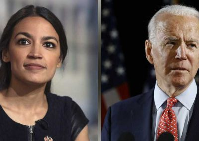 AOC, Biden Tied For 2024 Democratic Presidential Nominee Odds