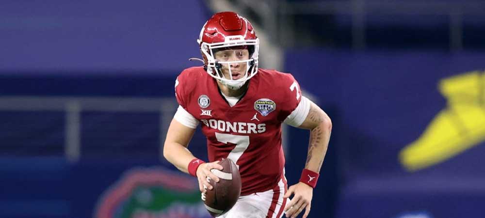 College Football Betting Fans Turn Focus On Spencer Rattler