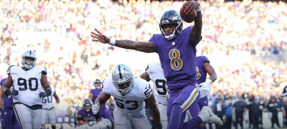 Monday Night Football Betting Preview: Ravens Vs. Raiders